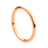 Rose Gold Carbide Tungsten Ring