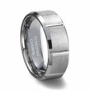 Grooved Carbide Tungsten Ring