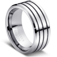 "Tungsten Ring Domed "" High Polished """