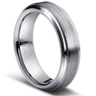 "Tungsten Ring ""Matte & Polished """