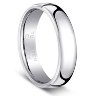 "Tungsten Ring "" High Polished """