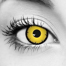Angelic Yellow FX Contact Lenses – Gothika – Pair