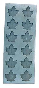 Rubber Mold - Maple Leaf  1 oz  12 cavity