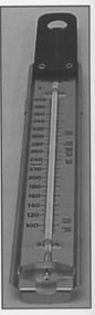 "Thermometer - Candy Thermometer - 12"" Stem   100ÁF to 400ÁF"