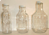 16 oz Glass Decanter (38mm cover) - 12/case - Price includes $1.00  extra per case  packaging fee for glass bottles.