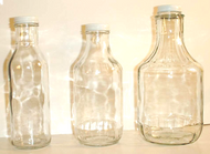 32 oz Glass Decanter (38mm cover) - 12/case - Price includes extra $1.00 per case packaging fee for glass bottles.