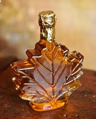 100 ml Maple Leaf Shaped Bottle  12/case - Priced Individually