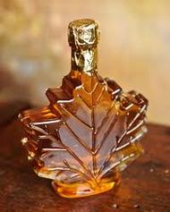 100 ml Maple Leaf Shaped Bottle  12/case - Priced Individually