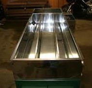 "TNT Continuous Flow Evaporator  - 24"" x 72"" Galvanized Arch. Float Box Quoted Separately"