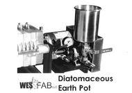 Wes Fab DE Pot with Fittings