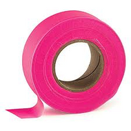 Flagging Tape - 50 yds Pink