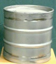 Stainless Steel 10 Gallon Drum