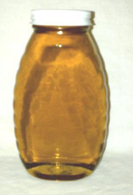 2# Honey Jar - glass 12/cs