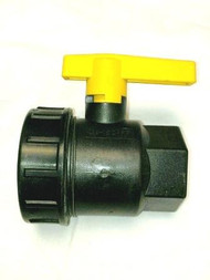 Banjo Valves - Heavy Duty, Black - 1.25""