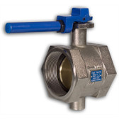 "3"" Butterfly Valve, Threaded"