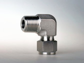 "ISD4ME4 1/4"" Mpt x 1/4"" Tube CS 90 Deg. Connector"