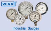 Wika 0-160# Liquid Filled Gauge, 233.53