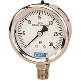 Wika 0-30# Liquid Filled Gauge, 233.53