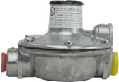 """Natural Gas Regulator for Cata-Dyne Heater, 4.5 IWC, 1/4"""" FNPT Inlet, 3/8"""" FNPT Outlet, P/N AC-R-2545"""