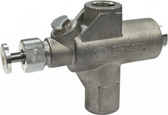 A picture of a shut-off valve for a Cata-Dyne infrared gas heater