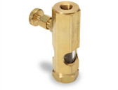"1/4"" F x F NPT Sight Feeder Valve"