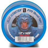 "Blue Monster 1/2""  X 1429"" Teflon Tape"