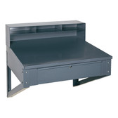 Edsal 650 Steel Wall Mount Desk (Knowledge Box)