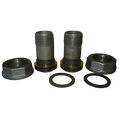 "10LT CONNECTION SET, 2 NUTS, 2 WASHERS, 2-10LT X 3/4"" SWIVELS *****SEE PRODUCT DESCRIPTION FOR SIZING CHART****"