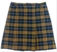 2-Kick Pleat Skirt PLAID P2V