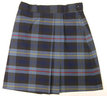 Plaid 2 Pleat Skort P41
