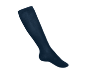 Navy Knee High Smooth Sock (1004)