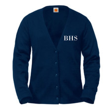 V-Neck Cardigan Sweater -BH