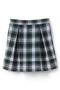 Skirt, two pleat- plaid 80