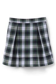 Skirt, two pleat- plaid 80
