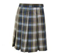 KWC Plaid Skirt- P57