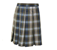KWC Plaid Skirt- P57