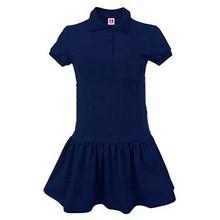 Jersey Knit Shirt Dress-AJA