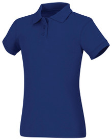 Girls Cotton Jersey Polo-ICS
