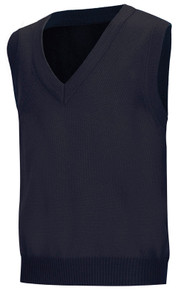 V-Neck Pullover Sweater Vest_NVY