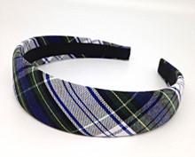 Plaid Padded Headband_p80