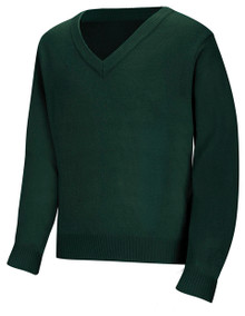 V-Neck Pullover Sweater_CLS_HUN