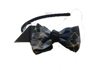 "Small Headband with 4"" Bow_P57"