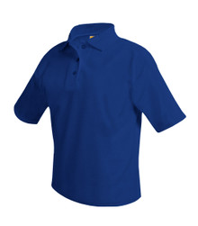Unisex Polo Short Sleeve Pique_STEP