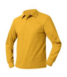 Unisex Polo Long Sleeve Pique_STEP