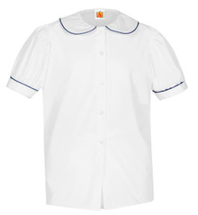 Peter Pan Short Sleeve_navy trim