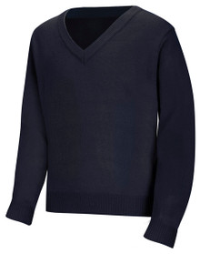 V-Neck Pullover Sweater_