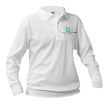 Youth Long Sleeve Pique Polo_BIA