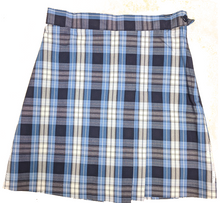 Two-kick Pleat Skirt High School Plaid