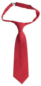 Pre-tied Tie-red