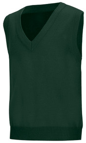 V-Neck Pullover Sweater Vest_grn
